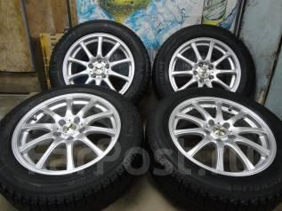 Продам Отличные Стильные колёса ZACK+Зима Жир 215/60R17Toyota, Nissan. 7.0x17 5x114.30 ET38