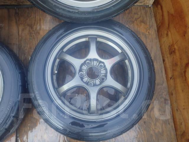 Отличные колеса R16 с Galant / Legnum. 6.5x16 5x114.30 ET0 ЦО 70,0мм.