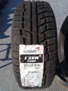 Kumho I'Zen KW22. Зимние, без шипов, 2015 год, без износа, 4 шт