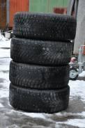 Michelin X-Ice North. Зимние, шипованные, износ: 60%, 4 шт