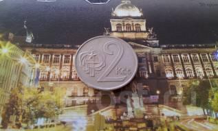 Социалистическая Чехословакия. 2 кроны 1980 года.