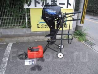 Tohatsu. 9,00л.с., 2х тактный, бензин, нога S (381 мм), Год: 2008 год. Под заказ
