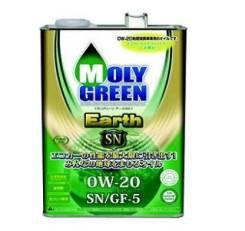 Moly Green. Вязкость 0W-20, синтетическое