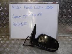 Зеркало заднего вида боковое. Nissan Almera Classic, B10 Nissan Almera Двигатель QG16