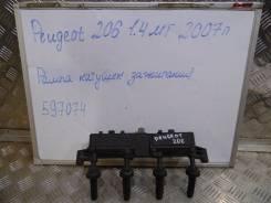 Катушка зажигания. Peugeot 206, 2A/C, 2B Двигатели: TU5JP4, TU3A, TU3JP