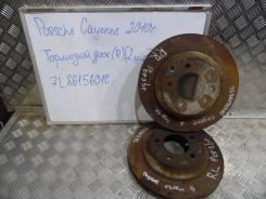 Диск тормозной. Porsche Cayenne, 9PA, 955 Двигатели: M, 48, 00, M02, 2Y, 50