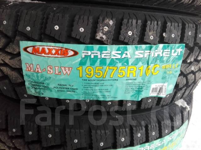 Maxxis MA-SLW Presa Spike. Зимние, шипованные, без износа, 1 шт