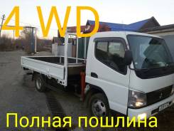 Mitsubishi Canter. Продам Mitsubishi Fuso Canter 4WD с крановой установкой, Без Пробега, 4 900 куб. см., 3 000 кг.