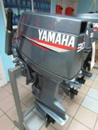 Yamaha. 30,00л.с., 2х тактный, бензин, нога S (381 мм), Год: 2003 год