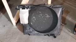 Радиатор охлаждения двигателя. Toyota Land Cruiser Двигатель 1HD