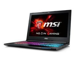 """Ноутбук MSI GS60-6QE i7-6700HQ/16Gb/1Tb+128Gb SSD/15,6""""FHD/GTX970M 3Gb. 15.6"""", 2,6ГГц, ОЗУ 8192 МБ и больше, диск 1 128 Гб, WiFi, Bluetooth, аккумуля..."""