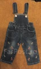 Комбинезоны джинсовые. Рост: 68-74 см
