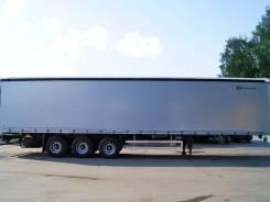 Grunwald. Полуприцеп шторный Gr-CSt, 32 000 кг.