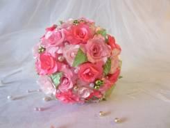 "Свадебный букет-дублер ""Pink"""