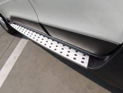 Порог пластиковый. Hyundai ix35 BMW X5