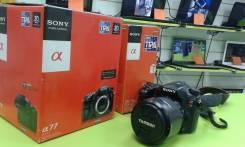 Sony Alpha SLT-A77. 20 и более Мп, зум: без зума