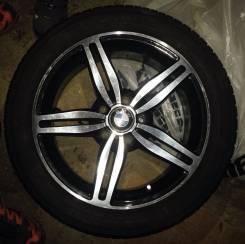 Продам литые диски BMW с новой резиной лето Ёкогама 235.45 R17. 7.0x17 5x120.00 ET20 ЦО 72,6мм. Под заказ