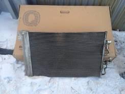 Радиатор охлаждения двигателя. Opel Astra