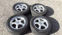 Клевый комплект колес на зиму!. 7.0x17 4x114.30, 5x114.30 ET32