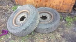 Продам пару грузовых колес 235/75/15 на грузовых дисках от MMC Canter. 7.0x15 6x170.00 ЦО 133,0мм.