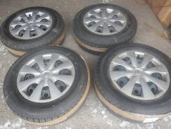 Продам зимние колеса 195/65-15 Bridgistoyne Ise Partne сверловка 100х4. 6.5x15 4x100.00 ЦО 60,0мм.