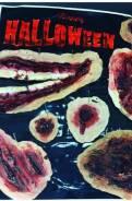 Скоро Хеллоуин! Накладная рана для грима