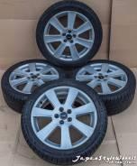 """Borbet 17""""x7J PCD 5x100 ET38 / Michelin 225/45R17 зима 7мм. 7.0x17 5x100.00 ET38 ЦО 74,1мм."""