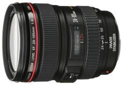 Продам объектив Canon 24-105/4L. Для Canon, диаметр фильтра 77 мм