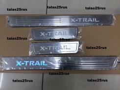 Порог пластиковый. Nissan X-Trail, NHT32, T32, NT32, HNT32