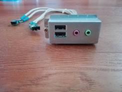 Передняя панель 2xUSB Audio-Mic