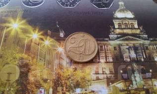 Социалистическая Чехословакия. 20 геллеров 1980 года.
