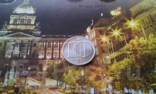 Социалистическая Чехословакия. 10 геллеров 1979 года.