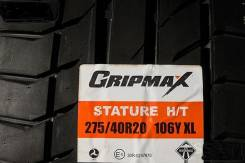 Gripmax. Летние, 2016 год, без износа. Под заказ