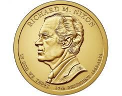 Новинка - 1 доллар США 2016 - 37 Ричард Никсон (Richard M. Nixon)