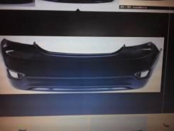 Бампер задний solaris 11-14 седан не окрашеный