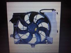Вентилятор охлаждения радиатора. Hyundai Solaris Hyundai i20 Hyundai Veloster
