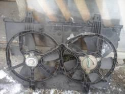 Вентилятор охлаждения радиатора. Nissan Liberty, RM12 Двигатель QR20DE