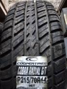 Cooper Cobra Radial G/T. Всесезонные, без износа, 1 шт