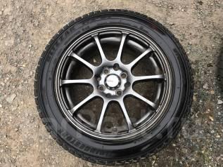 Продам колеса с зимней резиной. x15 4x100.00, 4x114.30 ЦО 50,0мм.