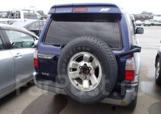 Дверь багажника. Toyota Hilux Surf, RZN185, VZN185, KZN185 Двигатели: 5VZFE, 3RZFE, 1KZTE, 1KDFTV