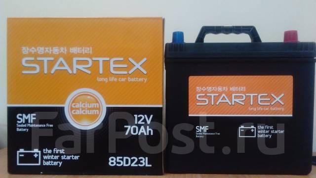Startex. 70 А.ч., левое крепление, производство Корея