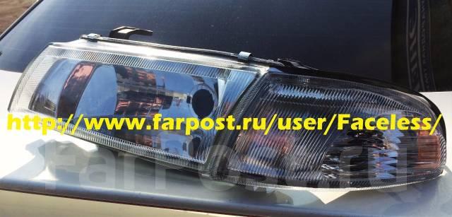 оптика тюнинговая на toyota carina 170