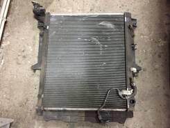 Радиатор охлаждения двигателя. Mitsubishi L200, KB4T Двигатели: 4D56, 4D56HP