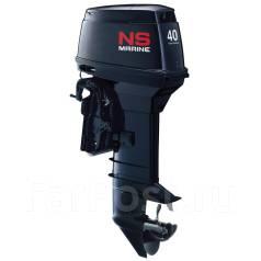 Nissan Marine. 40,00л.с., 2-тактный, бензиновый, нога L (508 мм), Год: 2016 год