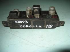 Блок предохранителей. Toyota Corolla, AE91