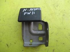 Ручка открывания капота. Nissan Avenir, SW11, W11, PNW11, PW11, RNW11, RW11