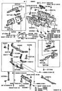 Планка радиатора. Lexus RX300, MCU10, MCU15 Toyota Harrier, MCU10, ACU15, MCU15, SXU15, SXU10, ACU10 Двигатели: 1MZFE, 2AZFE, 5SFE