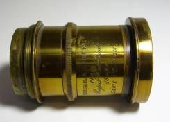 Антикварный объектив H. Roussel @L. Berteau Paris Rapid Rectiliniar. Для 18 х 24. Под заказ