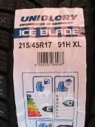 Uniglory Ice Blade. Зимние, без шипов, 2016 год, без износа, 4 шт