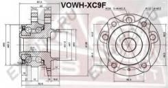 Ступица передняя 40 зубьев VOLVO XC90 02- Asva VOWH-XC9F